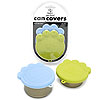 O.R.E Paw Can Cover Set/Blue&Green-F591
